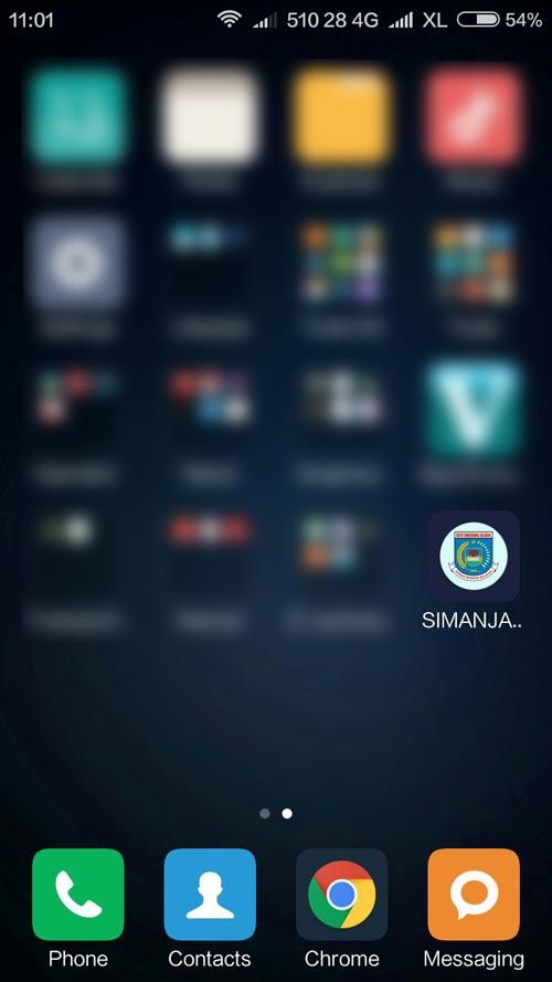 android_simanja_tangsel